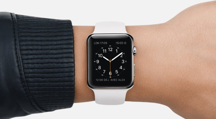 Display de la smartwatch d'Apple, l'iWatch