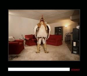 Illustration de la campagne publicitaire de Burger King - Subservient Chicken