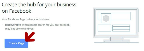 Créer une page Facebook For Business