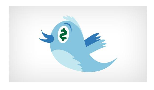 logo twitter publicité