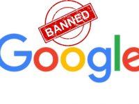 Google banni