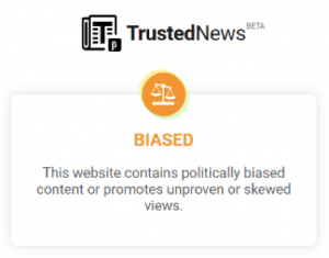 biased website