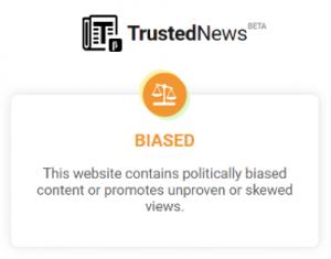 biased website